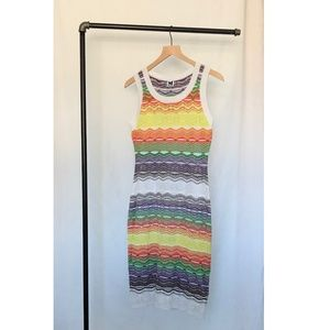 Missoni Crochet Zigzag Dress